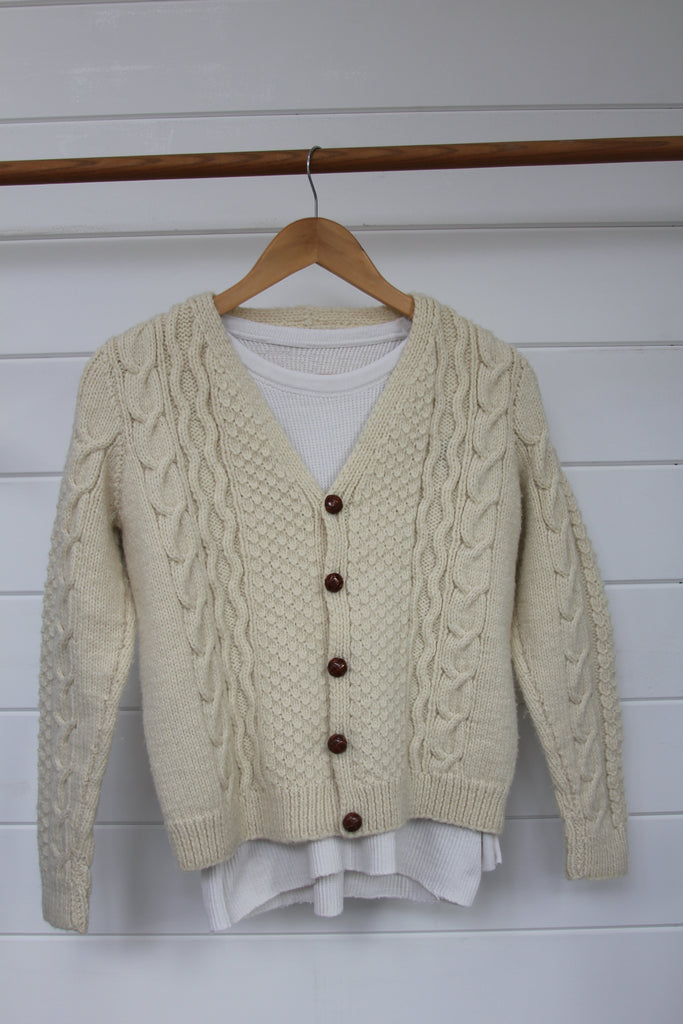Vintage Fishemens Cardigan Sweater