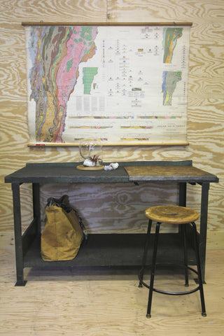 Industrial Wood Workbench