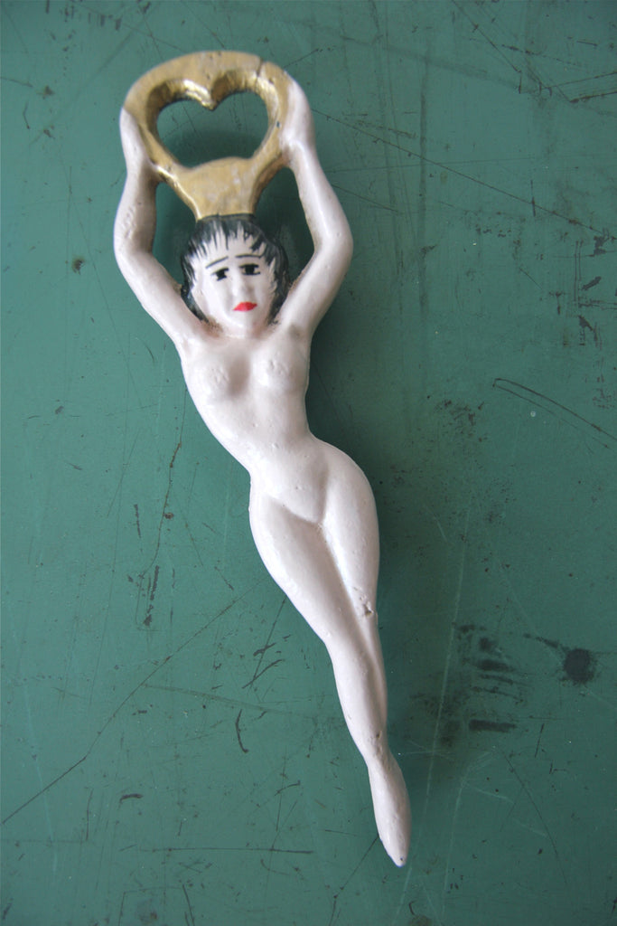 Vintage Nude Bottle Opener
