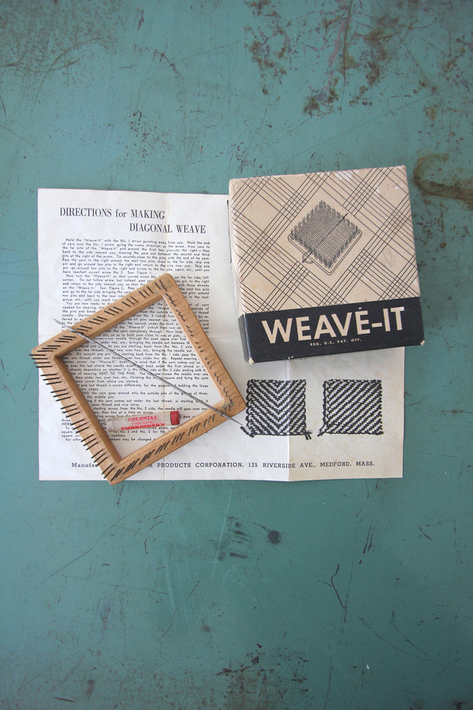 Vintage Weave-It Kit