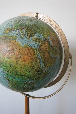 1950s Replogle Land and Sea Globe