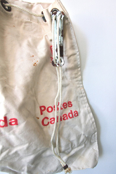 1980 Canada Post Canvas Mail Bag