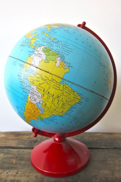"Replogle 8"" Simplified Reference Globe"