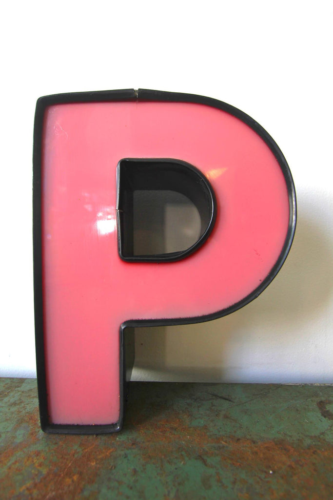 Metal Letter P 12""
