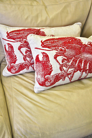 THOMAS PAUL Lobster Pillow