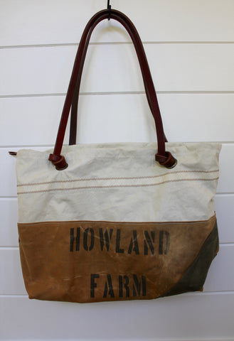 "Diamonds and Rust + Second Wind Sails ""Canvas & Sail"" Tote Bag"