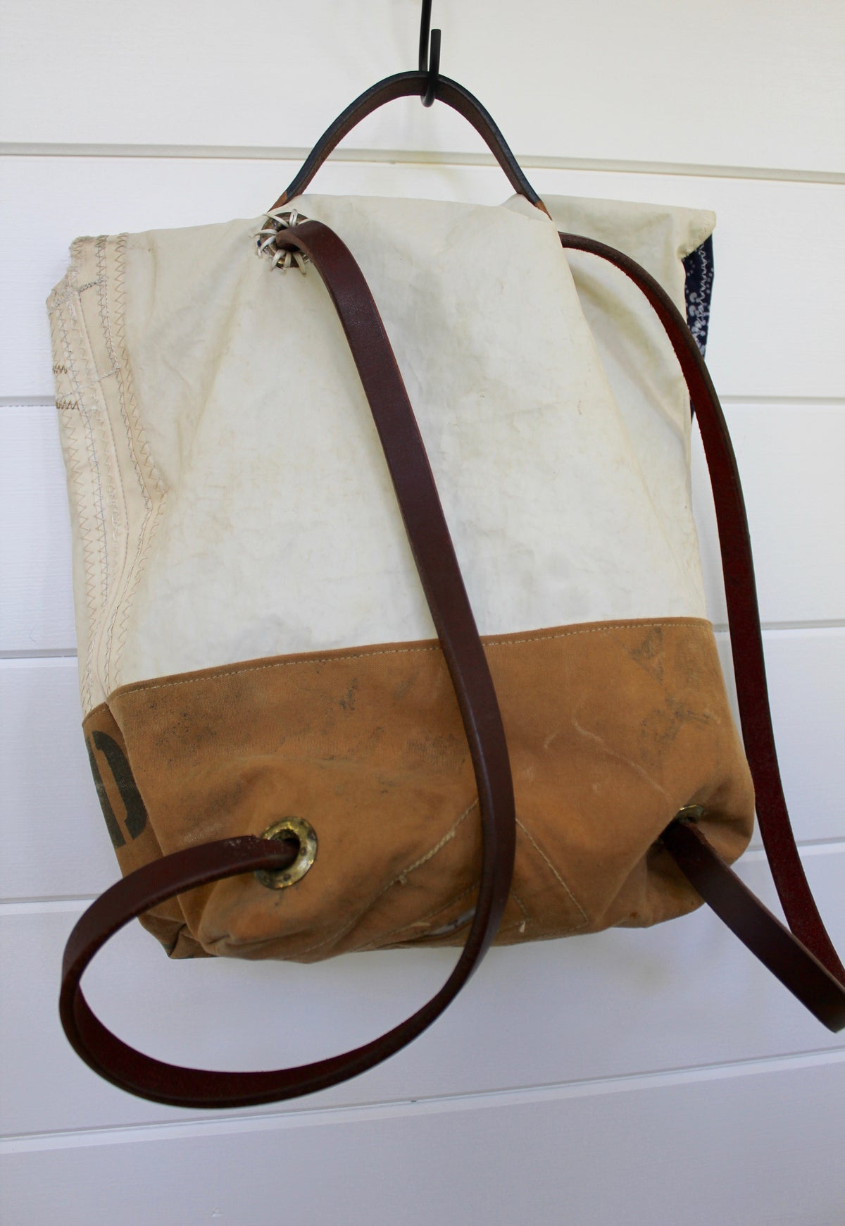 "Diamonds and Rust + Second Wind Sails ""Canvas & Sail"" Backpack - Diamonds & Rust"