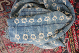 Vintage Indigo Textile: Circle 1 - Diamonds & Rust