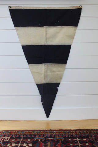 "Vintage Nautical ""Turn"" Signal Flag"
