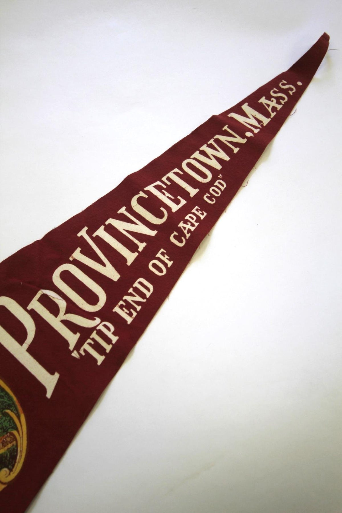 1950s Provincetown, Mass Pennant - Diamonds & Rust