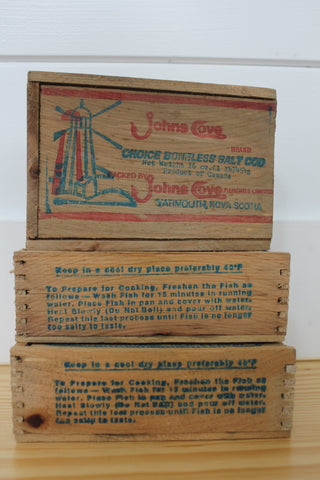 John's Cove Fish Box