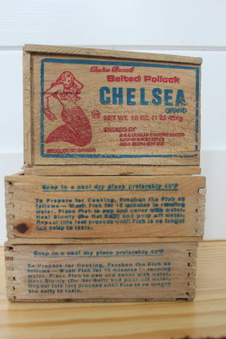 "Chelsea ""Salted Pollock"" Fish Box"