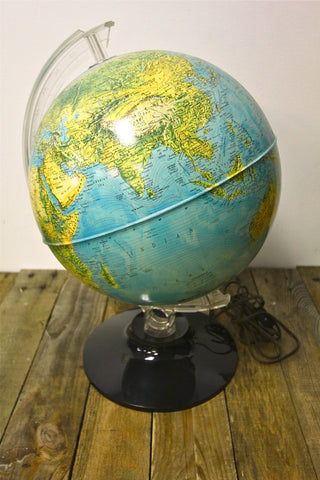 Rand McNally Light Globe 12""