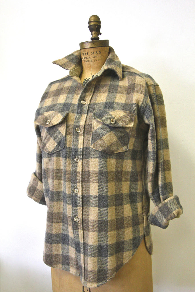 Vintage Woolrich Plaid Shirt