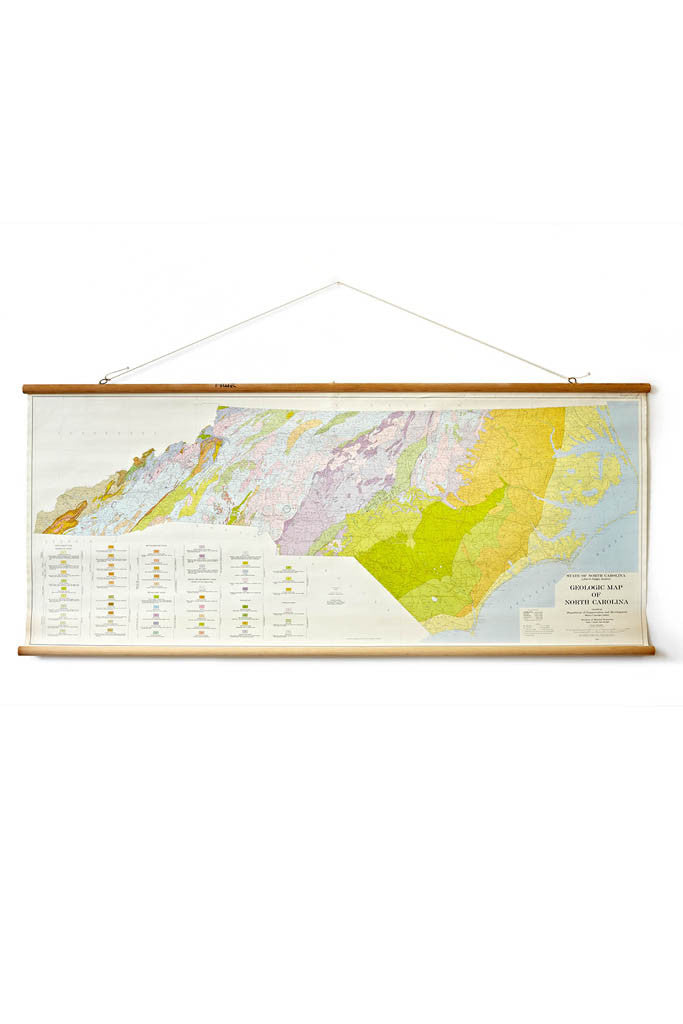 Geologic Map of North Carolina