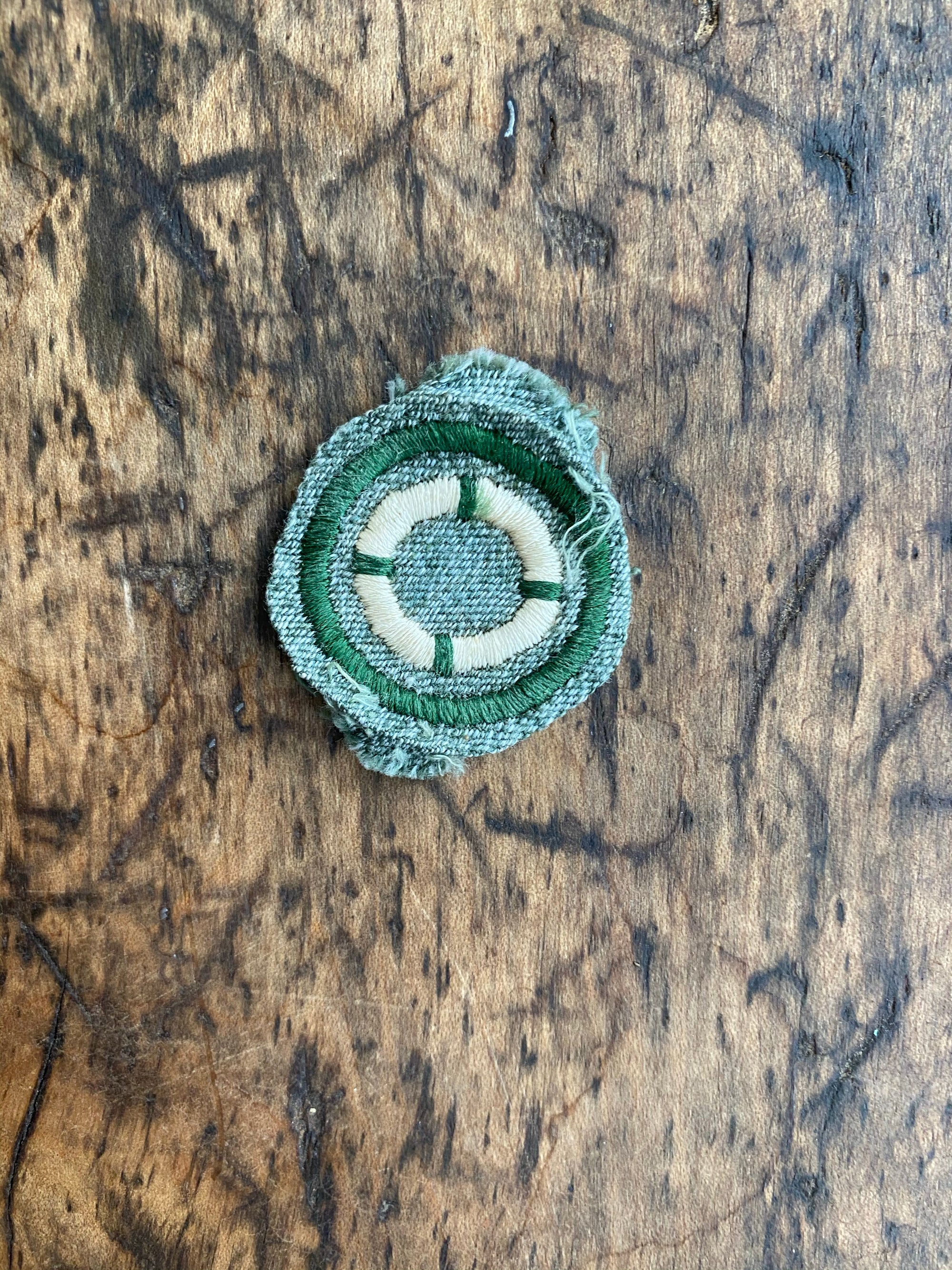"1920s Girl Scouts ""Swimmer"" Badge"