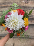 8/21 Fresh Flower Friday Bouquets - Small - Diamonds & Rust