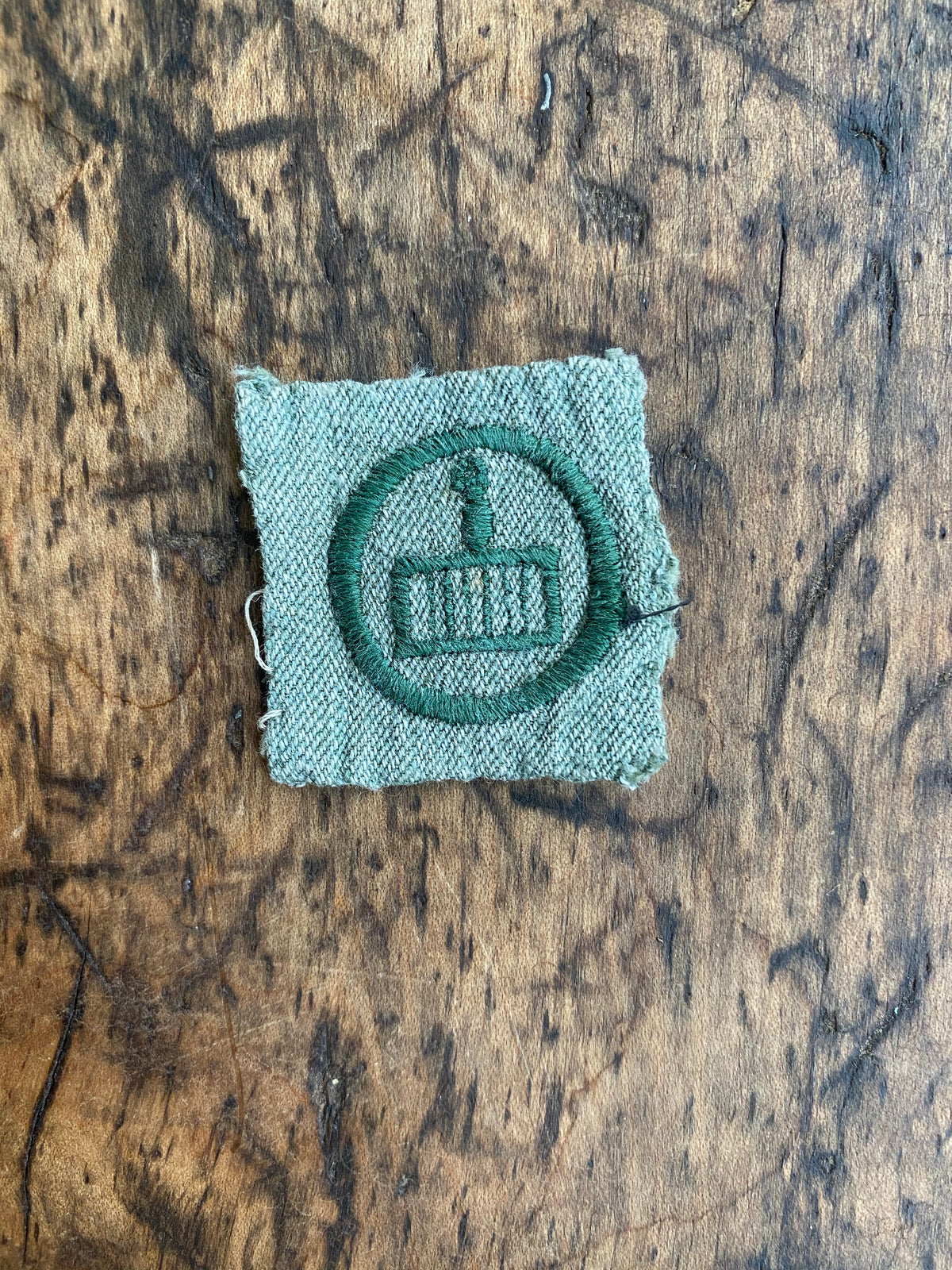"1933-1937 Girl Scouts ""Griddle"" Badge"