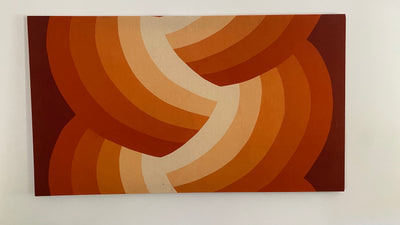 70s Finlayson Fabric Wall Art