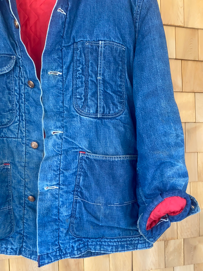Vintage Madewell Quilt Lined Chore Coat