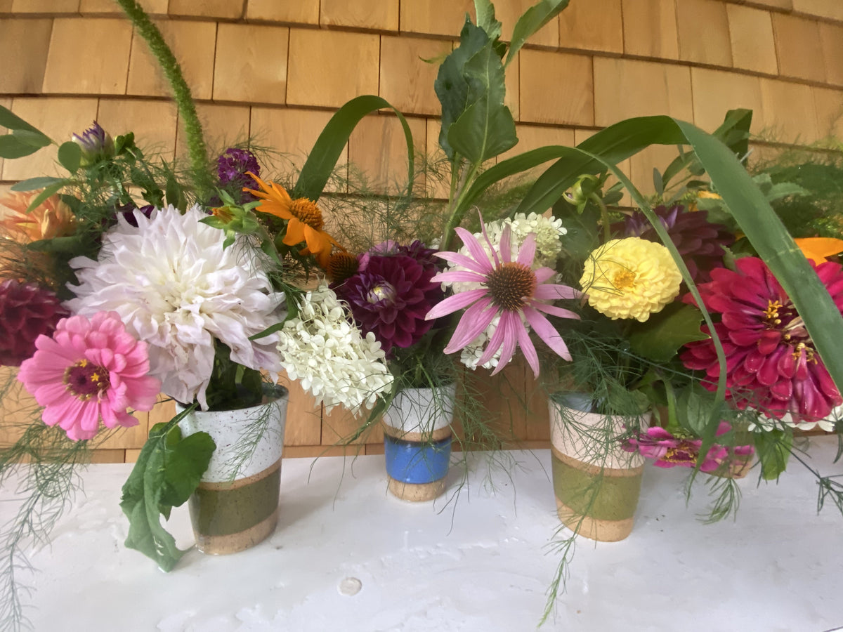 8/14 Fresh Flower Friday Bouquets - Diamonds & Rust
