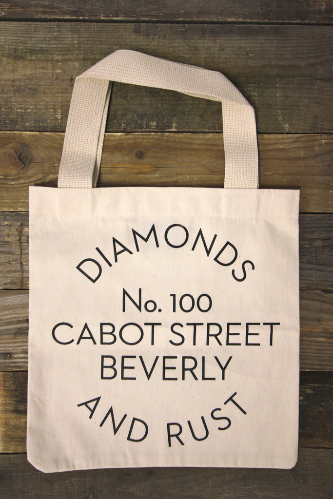 Diamonds & Rust Natural Tote