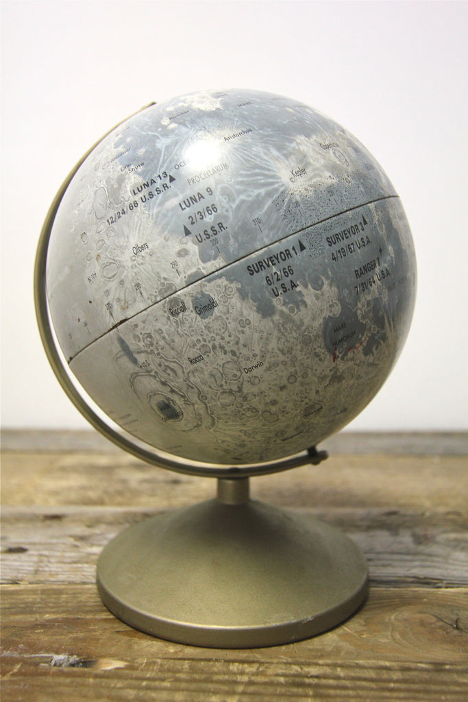 Vintage Moon Globe by Replogle