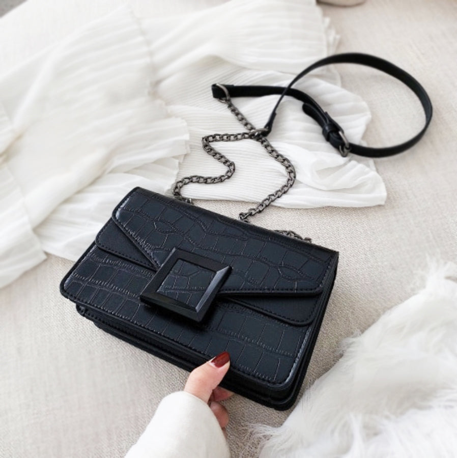 Rema - Vegan Leather Crossbody Bag