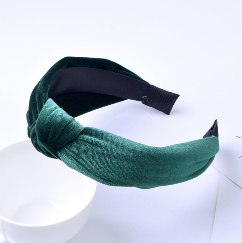Velvet Knot Headbands