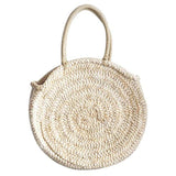 SUMMER - Round Straw Circle Bag
