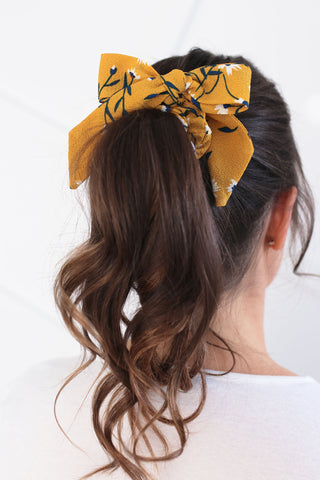 products/bow-scrunchies-detachable-ribbon-tails-yellow-floral-print.jpg