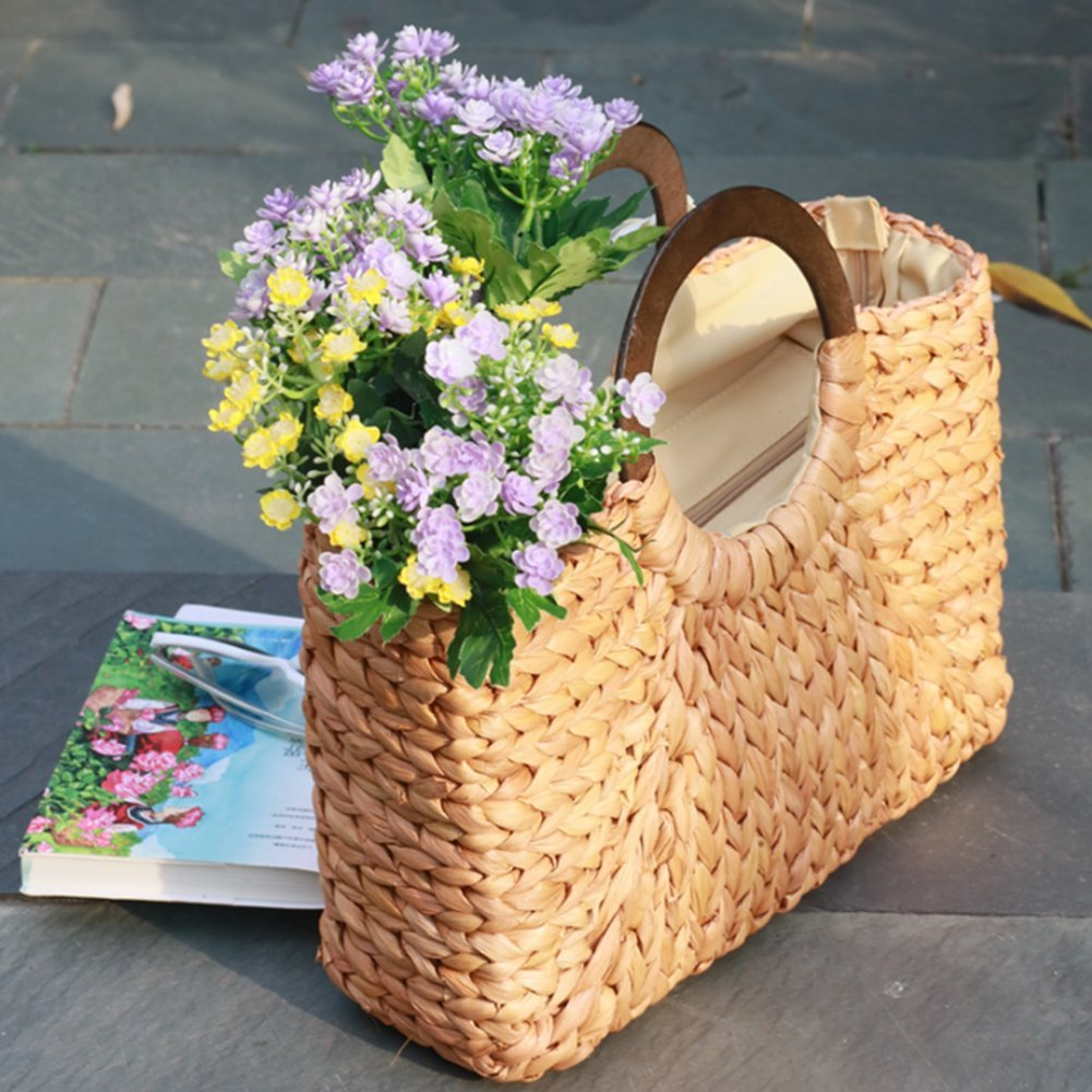ALLIE - Straw Tote Bag