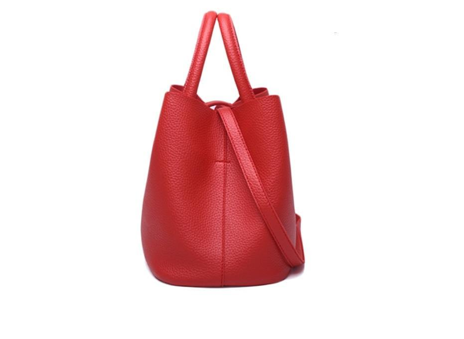 ALLY - Vegan Leather Tote Bag
