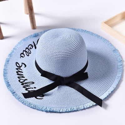 Sunshine - Straw Beach Hat