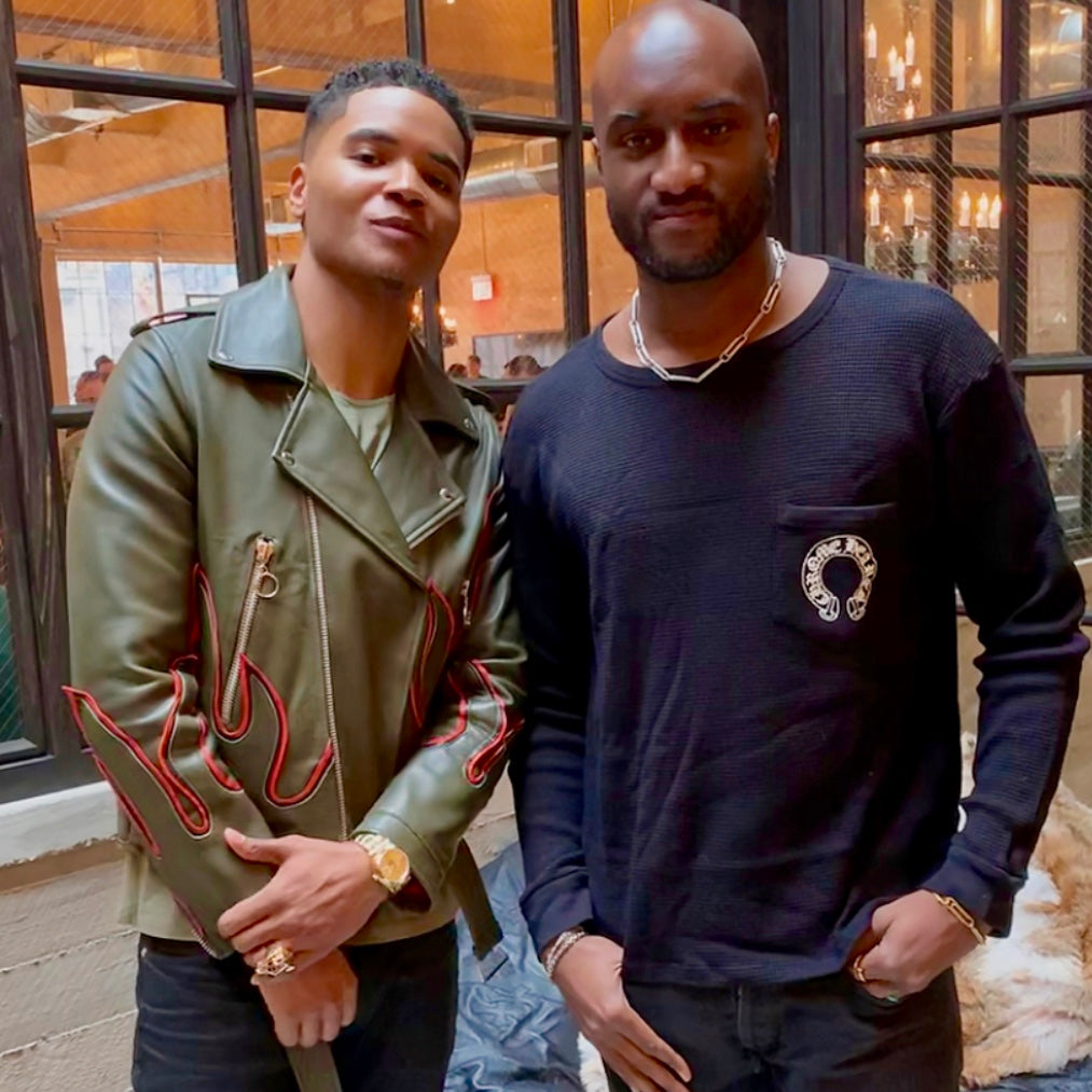 Creative Director and owner of Klaos & Conquer rubs shoulders with Virgil Abloh
