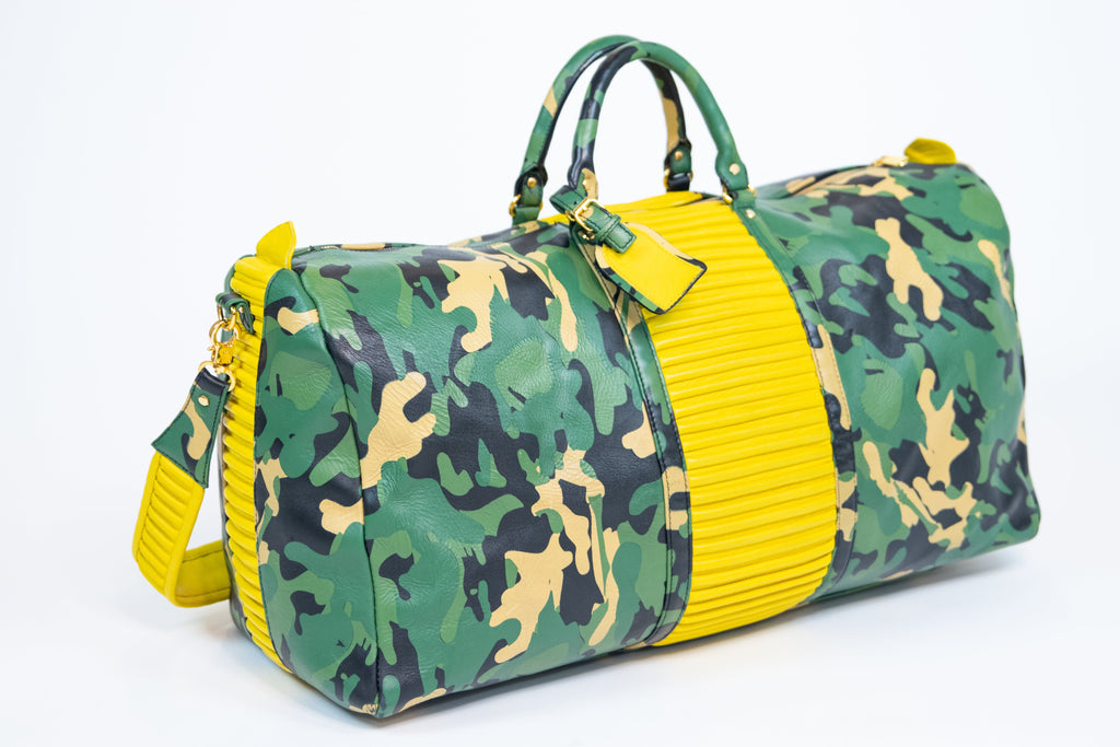 CAMO DUFFLE (YELLOW)