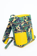 CAMO BACKPACK (YELLOW)