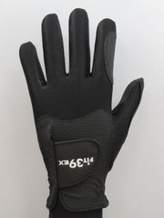 FIT39 Golf Glove Classic A Black Black