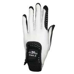 FIT39 Golf Glove COOL II CD White Black
