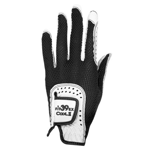 FIT39 Golf Glove COOL II CE Black White
