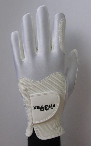 FIT39 Golf Glove Classic H White White