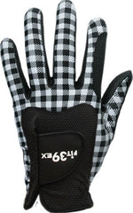 FIT39 Golf Glove Classic K Check Black / Black