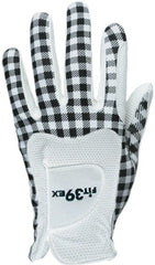 FIT39 Golf Glove Classic L Check Black / White
