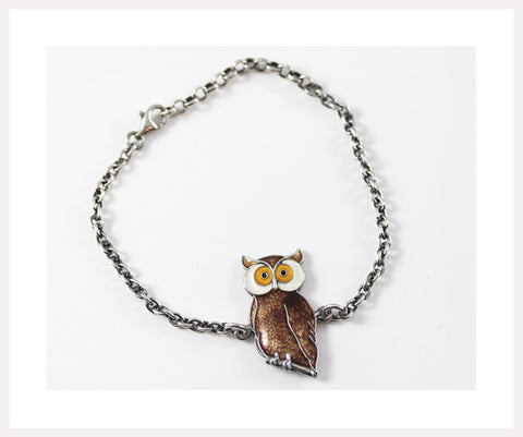 Brown owl oxidiced