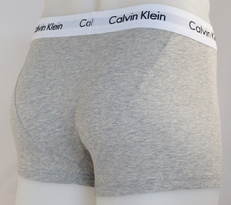 81ea2aa1db9c Calvin Klein Cotton Stretch 3 Pack Low Rise Trunk - Socks & Jocks