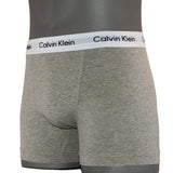 Calvin Klein Cotton Stretch 3 Pack Trunk Grey Angle