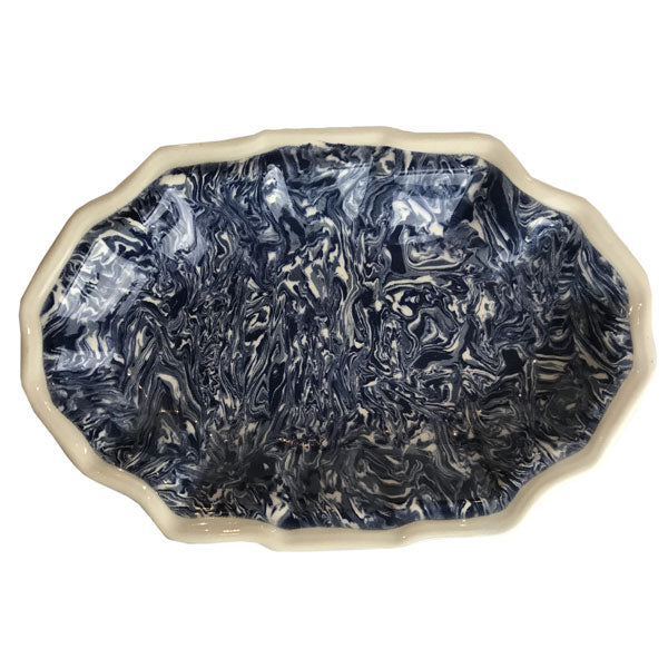 French Blue Aptware Small  Platter