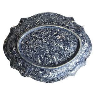 French Blue Aptware Large Platter