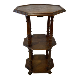 19th-C. French Tiered Table
