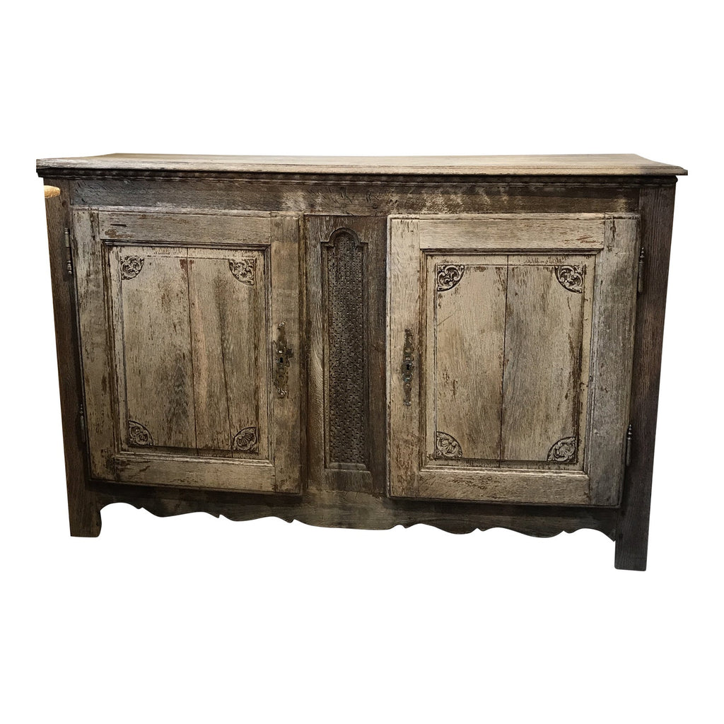19th-C. Bleached Buffet From Belgium